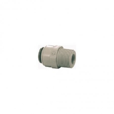 Tube To Male Pipe Adapter JG 1/4 Inch Tube To 1/8 Inch Male Npt Thread