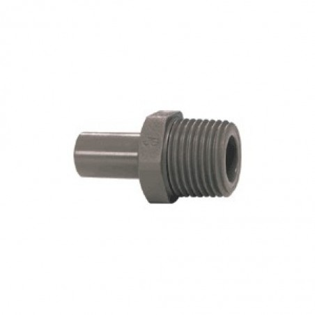 Stem Adapter 1/4 Inch To 1/4 Inch Npt Thread