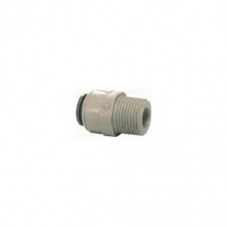 Tube To Male Pipe Adapter JG 1/4 Inch Tube To 1/4 Inch Male Bsp Thread