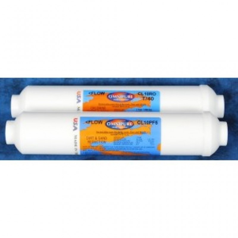 COUNTERTOP REVERSE OSMOSIS CARTRIDGE TWIN PACK
