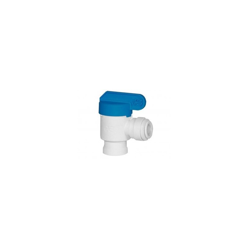 Stop Tap 1/4 Inch Female Npt Elbow To 3/8 Inch Tube