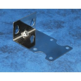 "Single bracket 1/4"" Stainless steel"