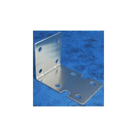 Stainless steel single big blue bracket