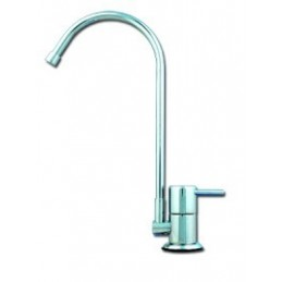"Model ""F"" Ceramic Disk Goose Neck Faucet"